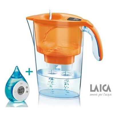 LAICA Stream Line filtrační konvice oranžová