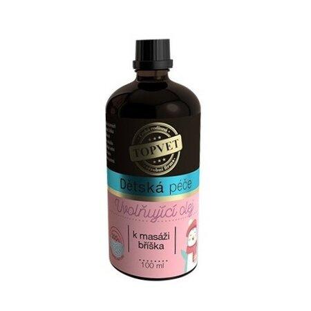 Topvet dětská péče Uvolňující olej 100 ml