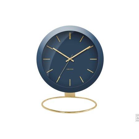 Karlsson KA5832BL Dizajnové stolné hodiny, 25 cm