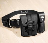 Pánská kožená sada Kakadu, černá