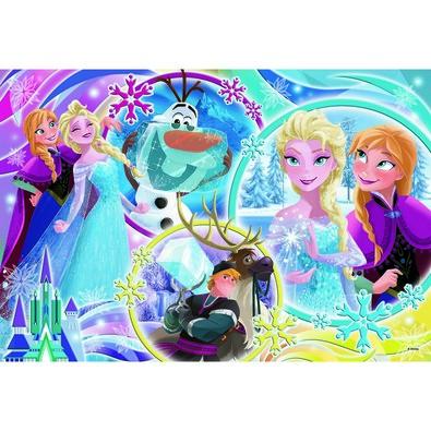 Trefl Puzzle Ľadové kráľovstvo Zem priateľstva, 100 dielikov