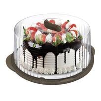 Pojemnik przenośny na tort 36,5 cm, brązowy