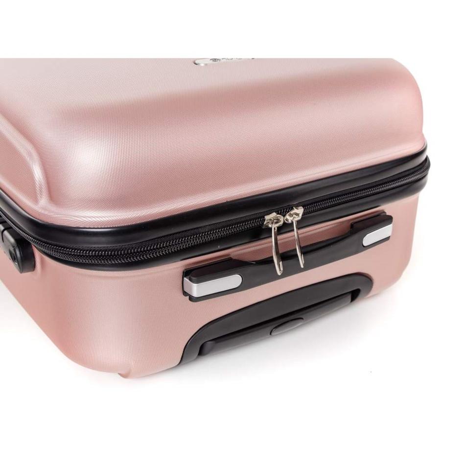 Produktové foto Pretty UP Kufr na kolečkách ABS16 růžová, 43 x 59 x 26 cm
