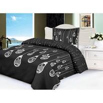 Lenjerie de pat din micro-pluș Edison, 140 x 200 cm, 70 x 90 cm