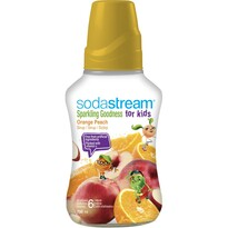 SodaStream Sirup Orange Peach Good-Kids, 750 ml