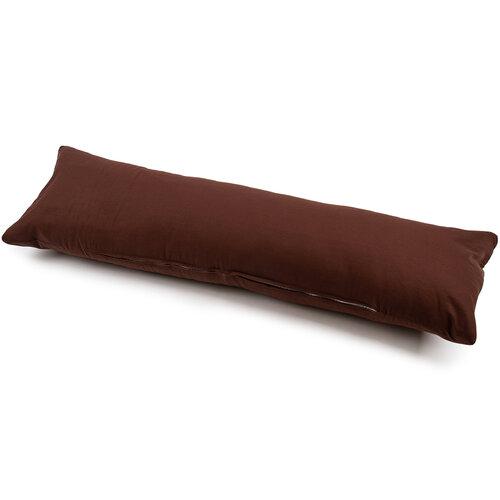 Față de pernă pentru relaxare de rezervă UNI maro, 40 x 120 cm