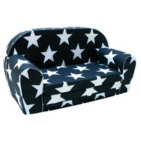 Bino Csillagok gyermek kanapé, 42,5 x 35,5 x 77,7 cm