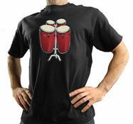 tričko s bubny, XL