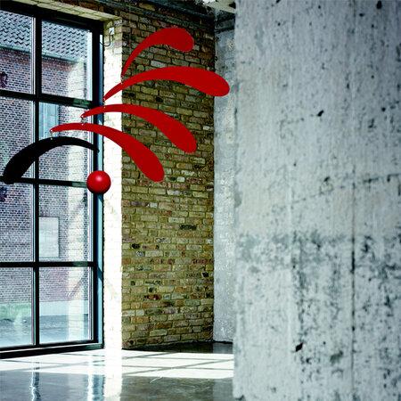 Kinet Flowing Rhythm 30 cm, czerwony