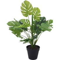 Floare artificială în glastră Holly, 45 cm