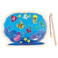 Bino Puzzle akvárium horgászbottal