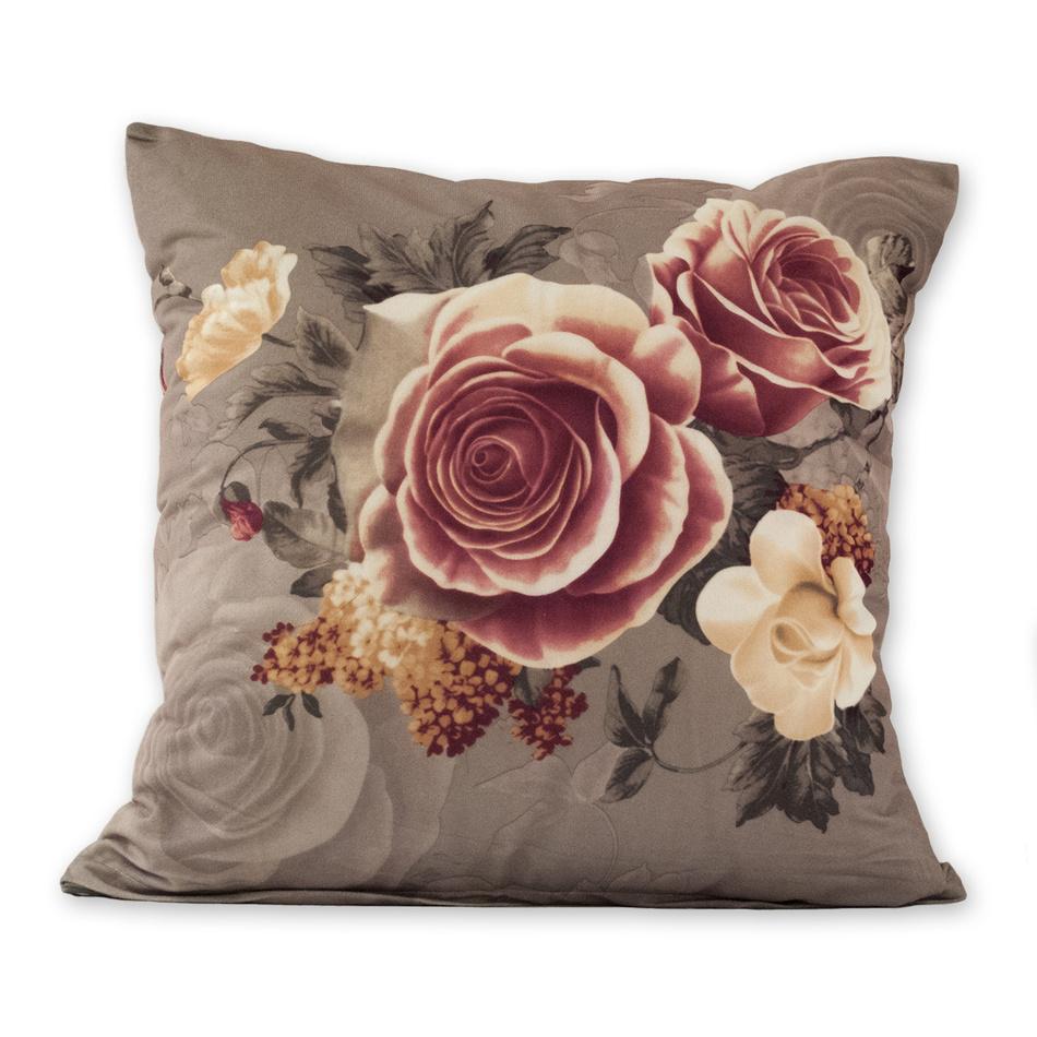 Jahu Povlak na polštářek Klasic růže šedá, 45 x 45 cm