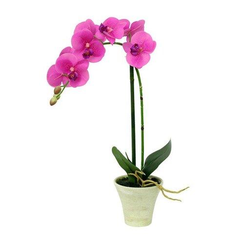 Umelá orchidea ružová, 44,5 cm, Autronic