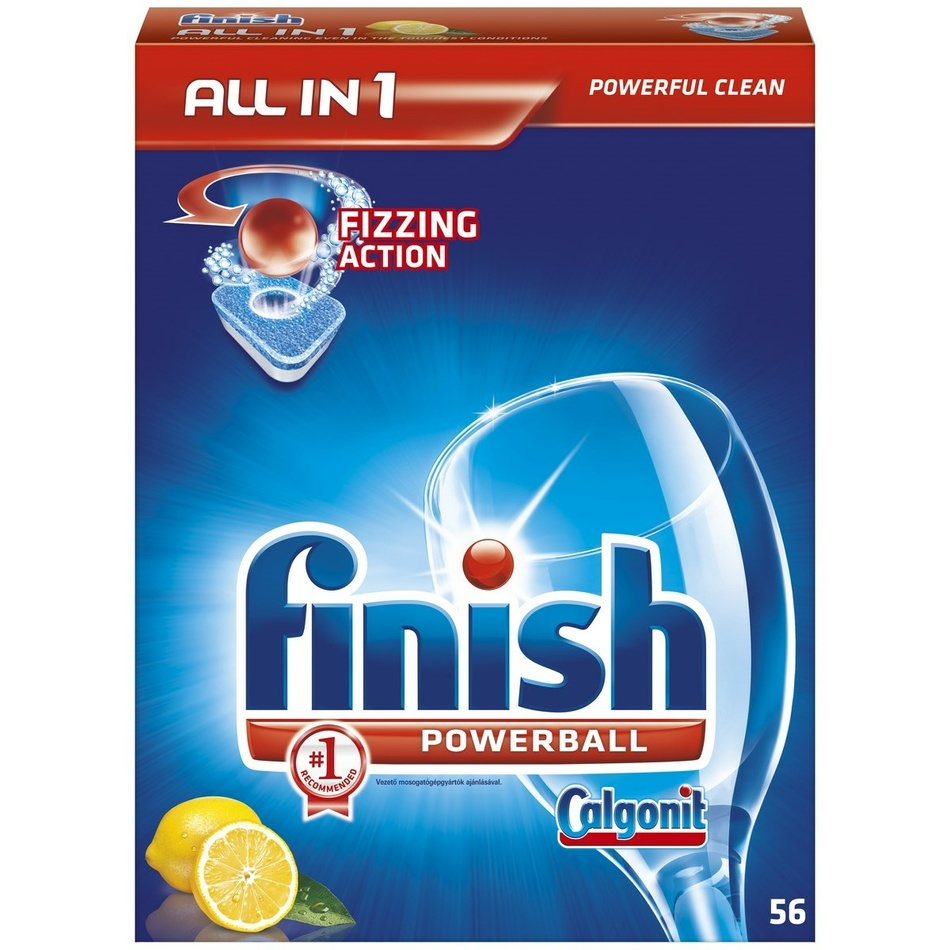 Finish All in 1 Powerball Lemon 56 tablet
