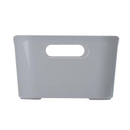 Plastový úložný box, sivá