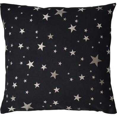 Sander Poszewka na poduszkę Star walk czarny, 40 x 40 cm