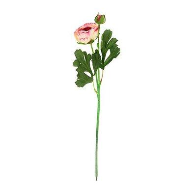 Umelá kvetina Ranunculus, červená