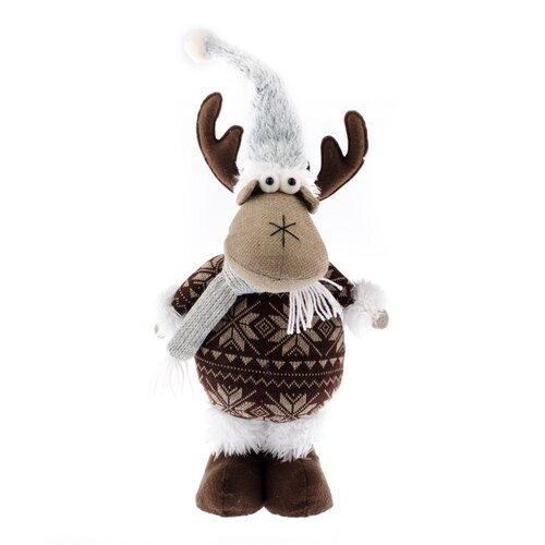 Bożonarodzeniowy renifer z filcu Albert, brązowy