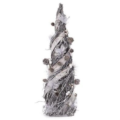 Proutěný vánoční stromeček 60 cm