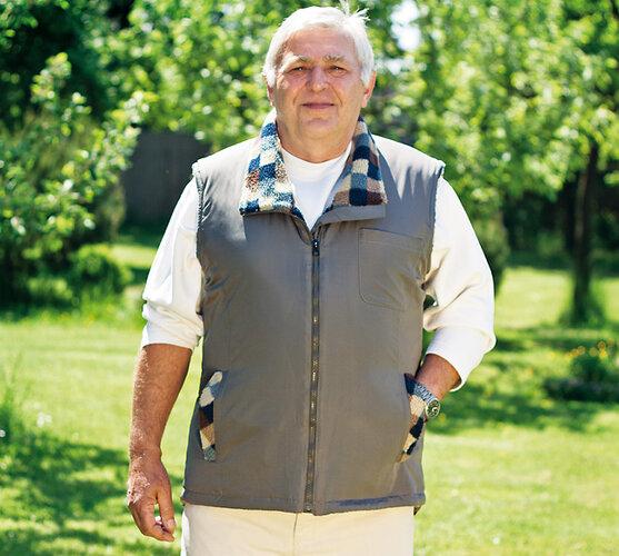 Pánská vesta bez rukávů