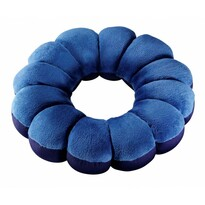 Pernă multifuncţională Flower, albastru