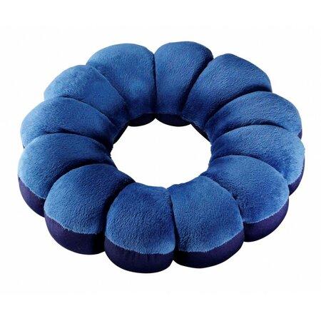 Multifunkciós párna Flower, kék