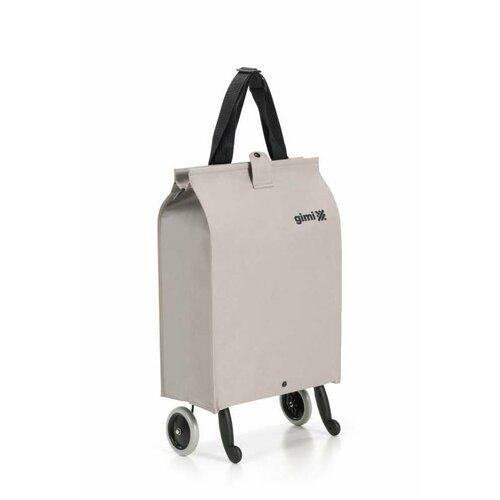 Gimi Nákupná taška na kolieskach Brava Plus béžová, 38 l