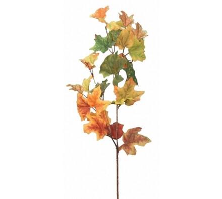 Umělá květina podzimní javorová větvička