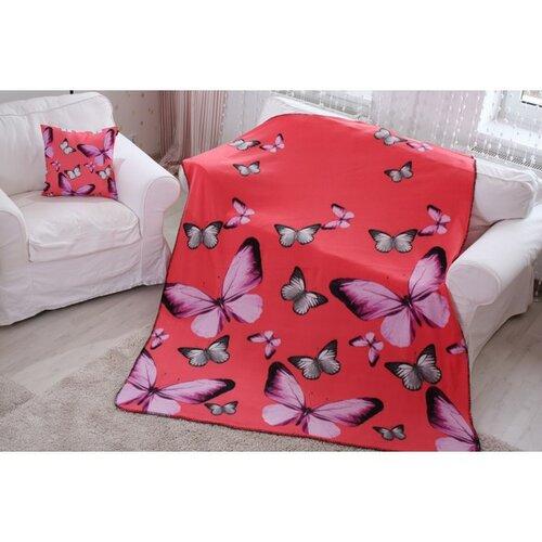 Domarex Deka BUTTERFLY 3D růžová, 150 x 200 cm