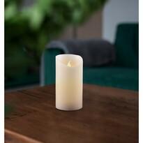 Vosková LED sviečka, 7,5 x 12,5 cm