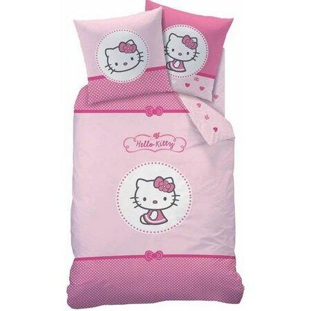 Detské bavlnené obliečky Hello Kitty Mathilda, 140 x 200 cm, 70 x 90 cm