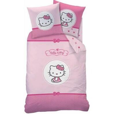 Dětské bavlněné povlečení Hello Kitty Mathilda, 140 x 200 cm, 70 x 90 cm