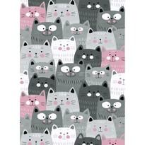 Kusový detský koberec Kiddo 1079 pink