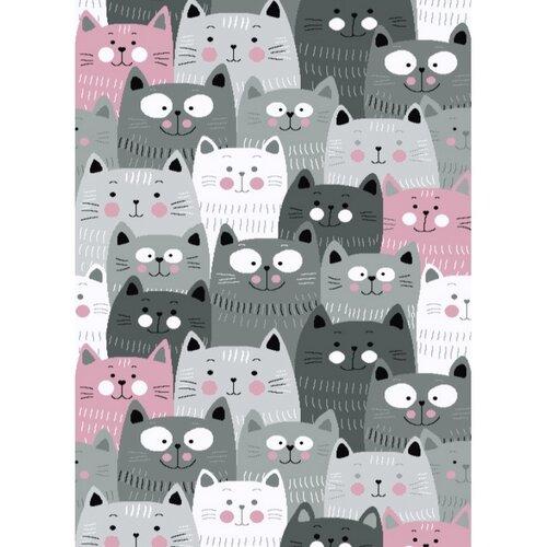 Kusový detský koberec Kiddo 1079 pink , 120 x 170 cm