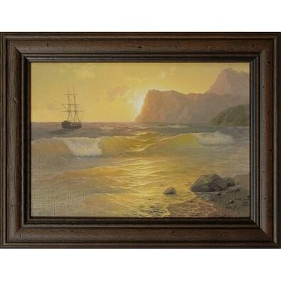 Obraz reprodukce Romantika 3, 13 x 18 cm