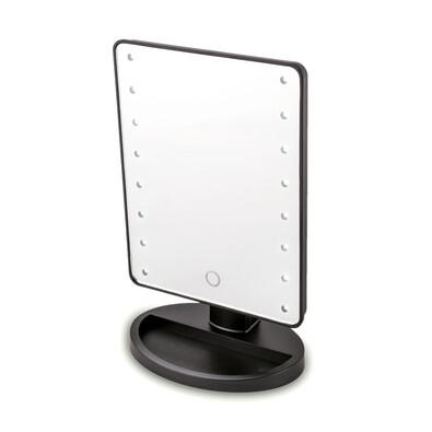 Kosmetické zrcadlo Lumiére, černá