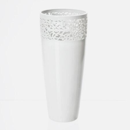 Studio Pirsc Porcelain Váza Cara Mia # 1, 33 cm, bílá