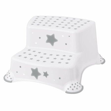 Keeper Gyerekszék - Stars fehér, 40 x 37 x 21 cm