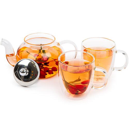 4Home Zestaw do herbaty Tea time Hot&Cool