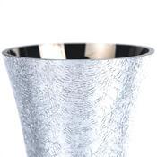 Váza skleněná praskaná 25 cm