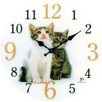 Lowell 14887 Designové nástěnné hodiny pr. 34 cm