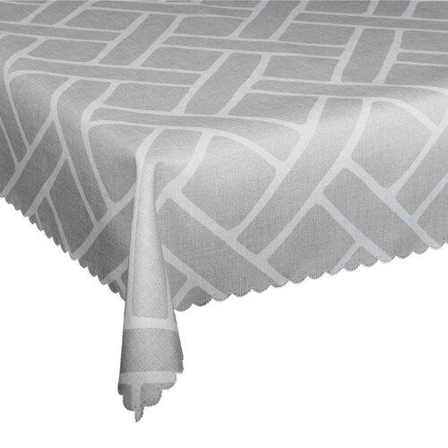 Ubrus s nešpinivou úpravou Boni šedá, 120 x 140 cm
