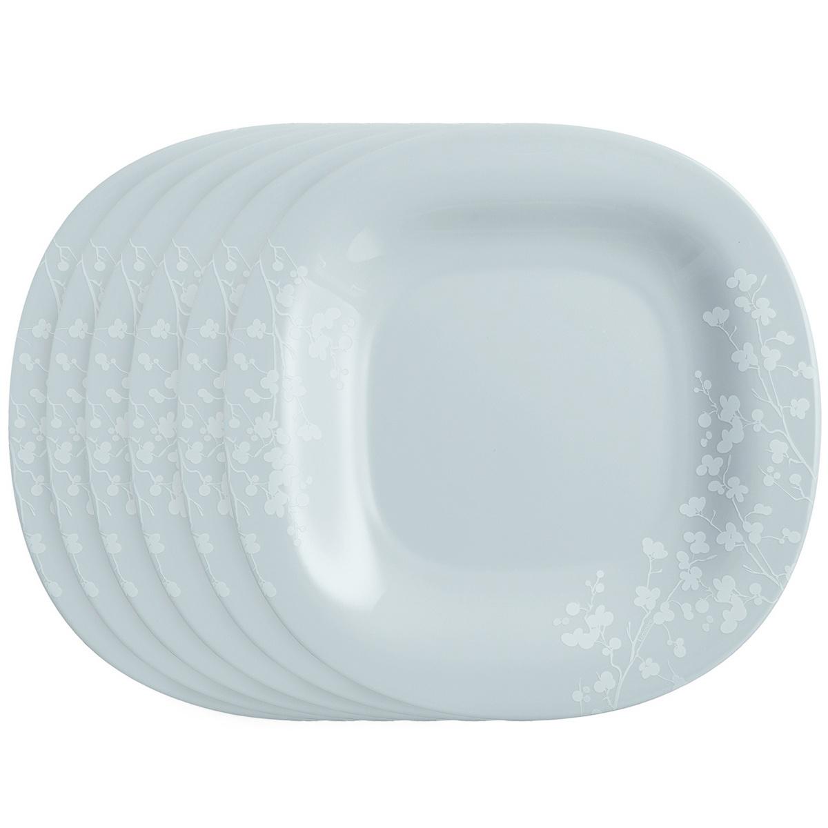 Luminarc Sada dezertních talířů Ombrelle 19 cm, 6 ks, šedá