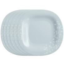 Luminarc Ombrelle desszertes tányér készlet, 19 cm, 6 db, szürke