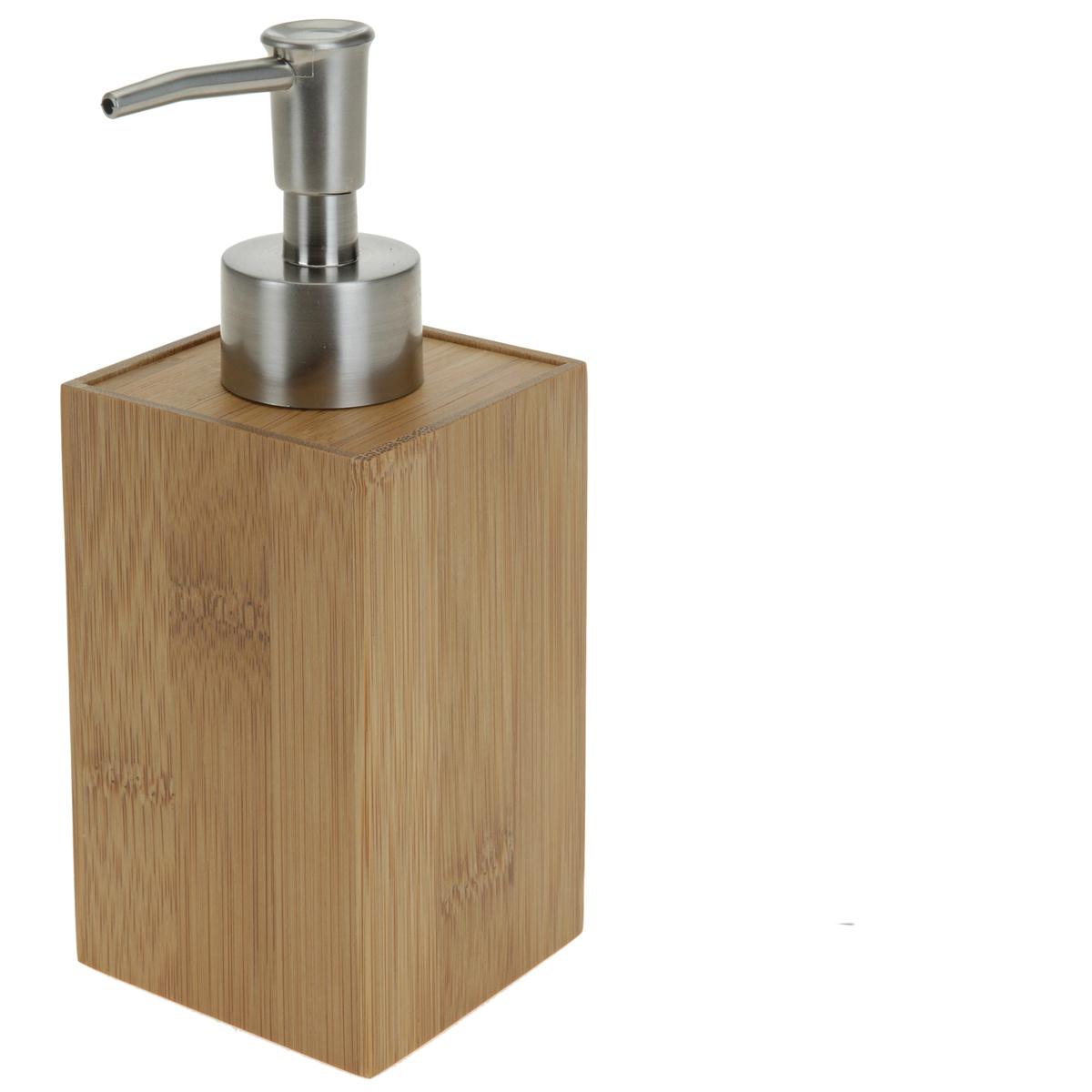 Dávkovač na mýdlo, bambus