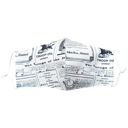 Mască facială din bumbac Ziarul