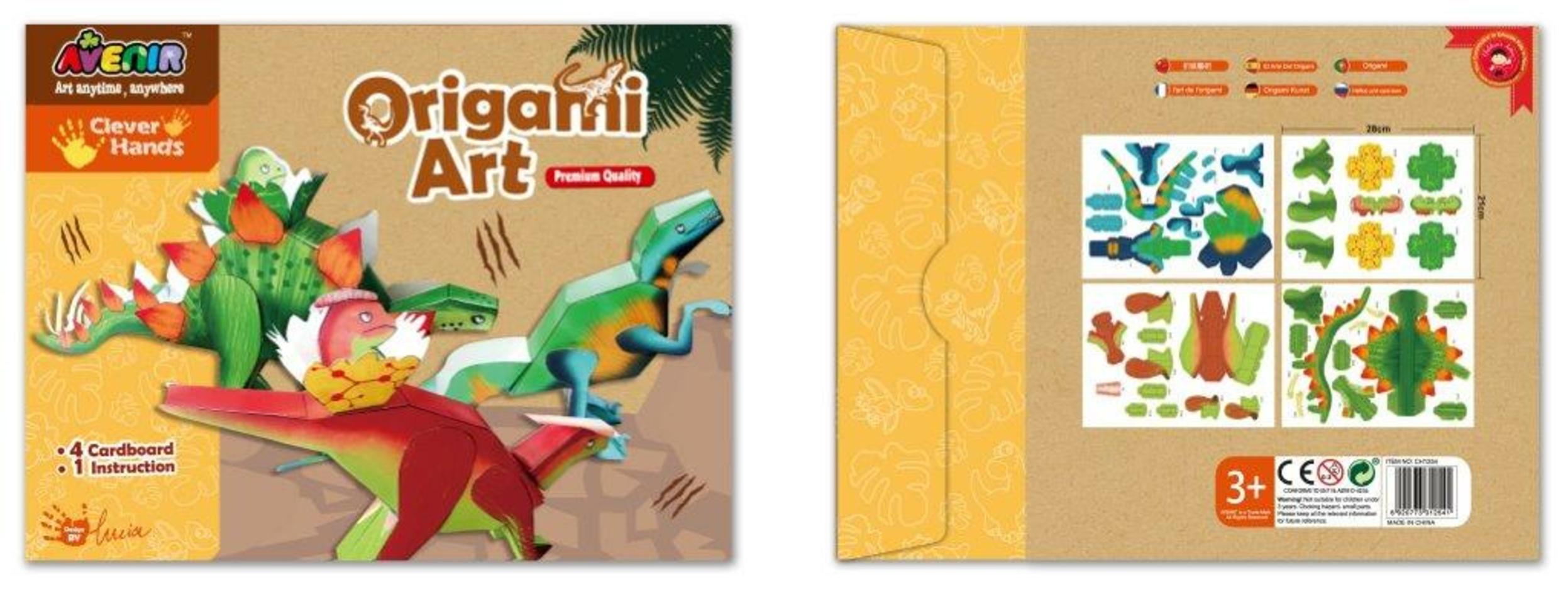 Bino Moje první origami Dinosauři