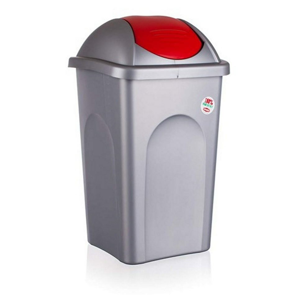 Multipat odpadkový kôš 60 l červená, 5570157 vetro-plus, 60 l