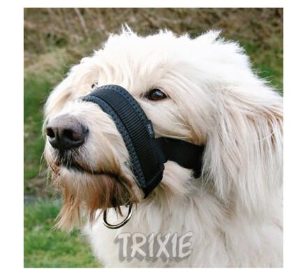 Nylonový náhubek podložený Trixie, L