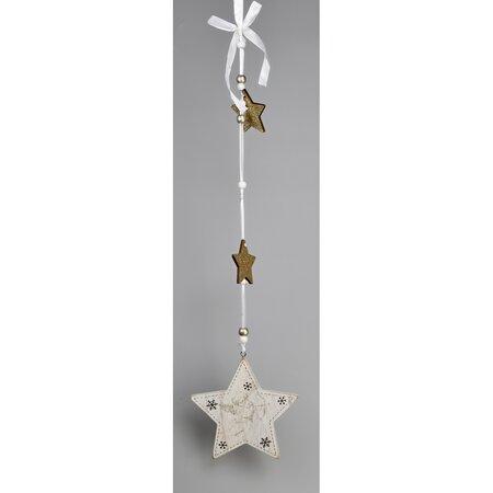 Decoraţiune de Crăciun agăţată, Stea, 60 cm